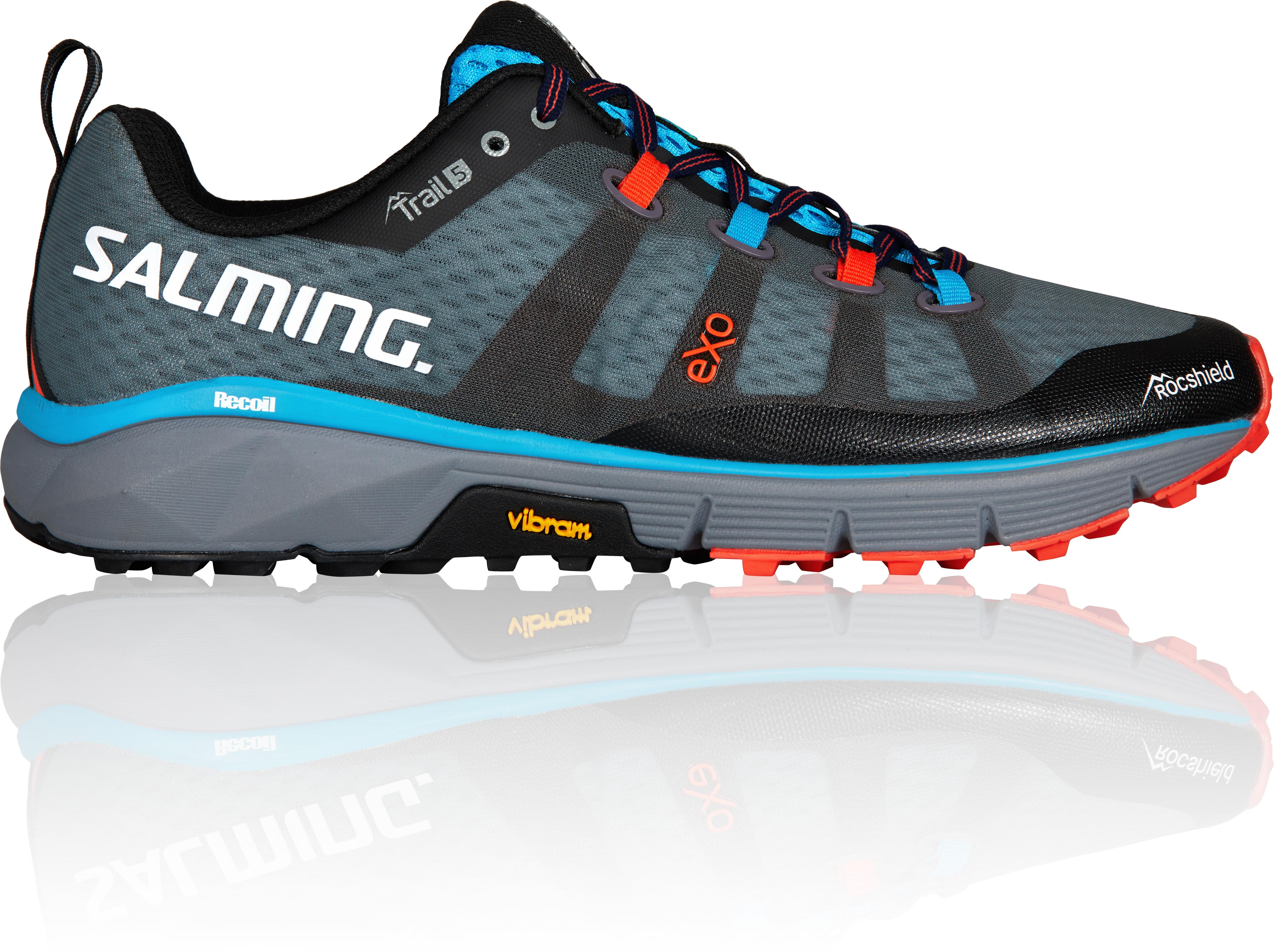 separation shoes d0de8 2aa78 Salming Trail 5 Löparskor Herr grå svart